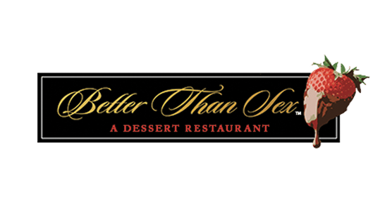 Better Than Sex A Dessert Restaurant Logo