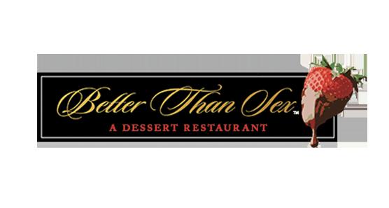 Better Than Sex A Dessert Restaurant Logo