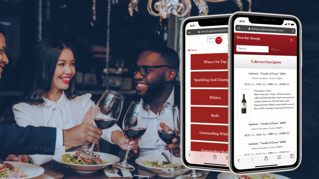 QR Code For Restaurant Menus – Safe Reopening – BYOM™ powered by Uptown Network