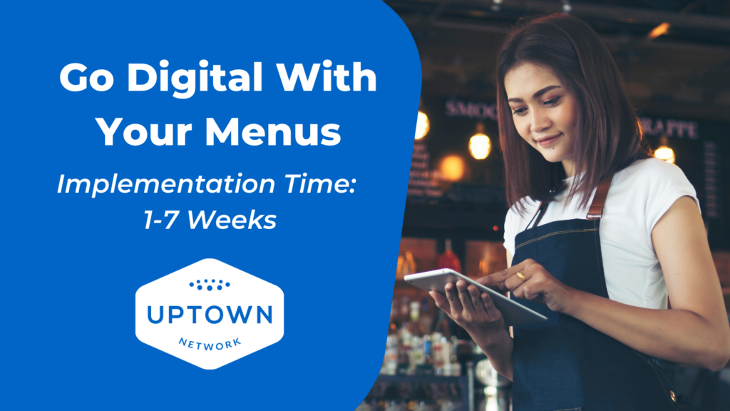 QR Code For Restaurant Menus – How Can I Make My Restaurant Eco-Friendly? – BYOM™ powered by Uptown Network
